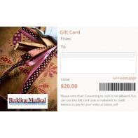 Gift Card that is Emailed (choose Template)