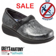 Grey's Anatomy Meredith Softwalk Nursing Shoe - #G1400-037-Grey Marble