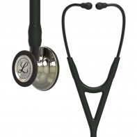 3M™ Littmann® Cardiology IV™ Diagnostic Stethoscope, Champagne-Finish Chestpiece, Black Tube, Smoke Stem and Headset, 27 inch, 6179