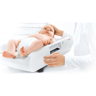 Seca 727 Digital baby scale with fine 1 g graduation and wireless transmission