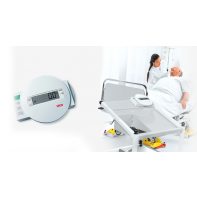 Seca Digital bed and dialysis scale with equipment trolley #984