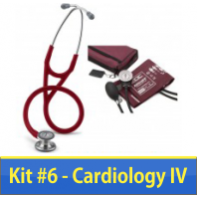 Nurse Kit #6 with Cardiology IV and Deluxe ADC Blood Pressure Unit   #6152-6