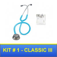 Nurse Kit #1 with Classic III  Stethoscope and Instruments