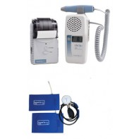 LifeDop® 250 ABI Reimbursable Vascular Doppler w/8Mhz Probe, Printer, 2 Cuffs, Aneroid, L250AB