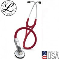 3M™ Littmann® Electronic Stethoscope Model 3200, Burgundy Tube, 27 inch, 3200BU