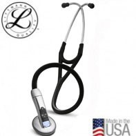 3M™ Littmann® Electronic Stethoscope Model 3200, Black Tube, 27 inch, 3200BK27