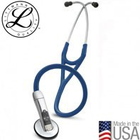 3M™ Littmann® Electronic Stethoscope Model 3200, Navy Blue Tube, 27 inch, 3200NB