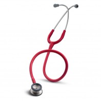 Infant stethoscope in red