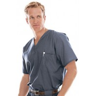 Landau's Men's Vented Scrub Top #7594