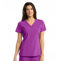 Barco One 4-Pocket V-Neck Top #5105B