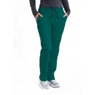 Barco Essentials Women's 4PKT 1/2 Elastic Waistband Drawstring #BE004