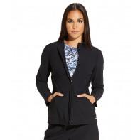 """Grey""""s Anatomy Edge Women's """"Luna"""" Solid Scrub Jacket #GEJ004"""
