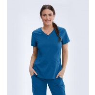 Women's Zoe Solid Scrub Top #GRST013
