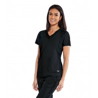 Women's Livia Solid Scrub Top #GRST043