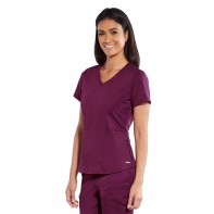 Women's Lane Solid Scrub Top #GRST058