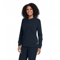 Women's Millie Solid Scrub Jacket #GRSW017