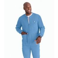 Barco Grey's Anatomy Men's React 5PKT Zip Front Warm-Up #GRSW871