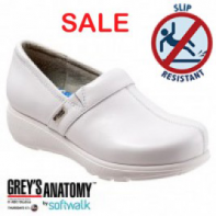 Grey's Anatomy Meredith Softwalk Nursing Shoe - White #G1400-100