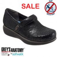 Grey's Anatomy Meredith Softwalk Nursing Shoe -   #G1400-950-Multi Mosaic