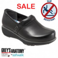 Grey's Anatomy Meredith Softwalk Nursing Shoe - All Black #G1400-006