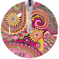 UltraScope Cardiology Stethoscope with Paisley in Pink Design #203