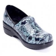 Savvy Nursing Shoes by Cutieful, Brandy, Blue Cube #SVB-PSLY
