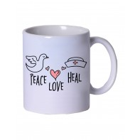 Peace Love Heal Coffee Mug #M986