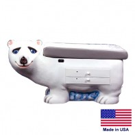 Zoo Pals Polar Bear Exam Table