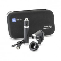 Hillrom Diagnostic Set- Rechargeable Power Handle w/ PanOptic Plus Ophthalmoscope w/ One Premium Lithium-Ion Plus USB Rechargable Handle #71-PX3LXE-US