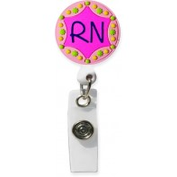3D Rubber Retractable Badge Reel – RN #SC-086