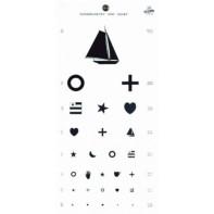 Kindergarten Eye Chart #1243
