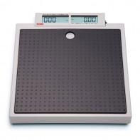 Seca 874 Mobile flat scales with push buttons and double display