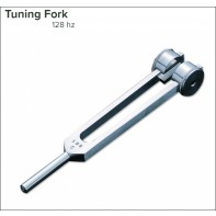 Tuning Fork with Weights, 128 Frequency