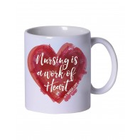 Work of Heart Coffee Mug #M963