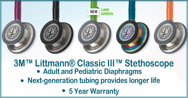 Littmann Stethoscopes Cardiology Iii Classic Ii