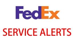 Fedex alerts
